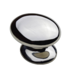 BBK-1 Polished Nickel Bakes Knob