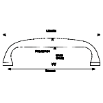BV-2 Bourneville Pull line drawing