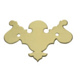 "CH-3 2-1/4"" Chippendale Drawer Pull Plate Only"