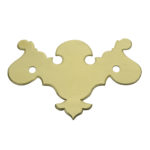 "CH-3 2-1/2"" Chippendale Pull Plate Only"