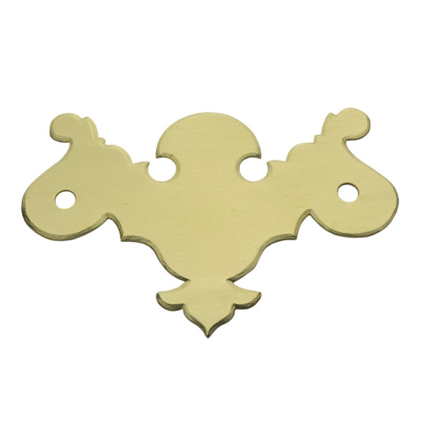 "CH-3 3"" Chippendale Drawer Pull Plate Only"
